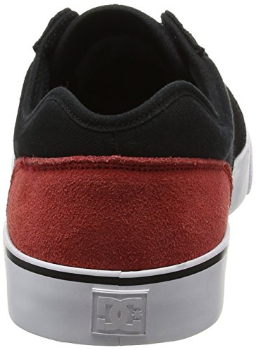 Shoes Black Homme red Dc Tonik black white Basses Sneakers pdCfwxq7