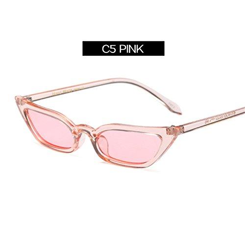 Gafas De Señoras Uv400 Y Rojo KLXEB De C5 Gafas Super Mujeres Anteojos De Sol Negro Vintage C3 Mujeres Ligero Sol Lentes 6qxw4w8U