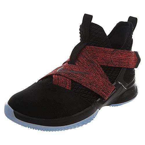 NIKE Lebron Soldier XII Big Kids Style : Aa1352 (Shoes Boys Lebron School 12 Grade)