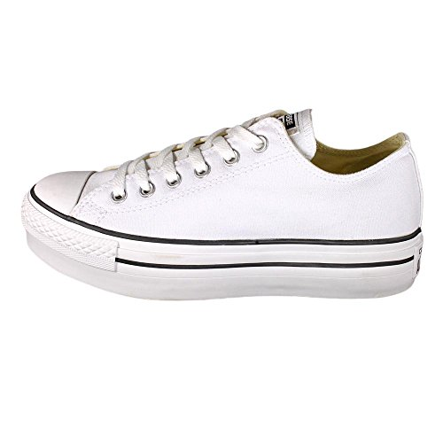 Zapatos De Mujer Inverso Chuck Taylor Zapatillas De Deporte De Buey Bajo El Lienzo z4WRX
