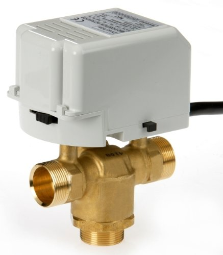 Drayton 27206 28mm 3-Port Motorized Valve: Amazon.co.uk: DIY & Tools