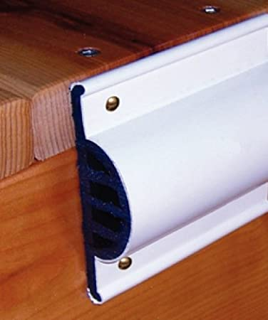 White 10-Feet Taylor Made Products 46013 Comm Dock Side Guard Coil Retail Pack