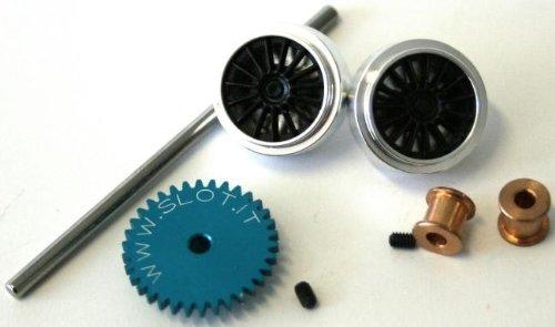 Slot.it KK05 Kit Sidewinder Z34 Ø18 crown + 15,8x8,2mm Small wheels