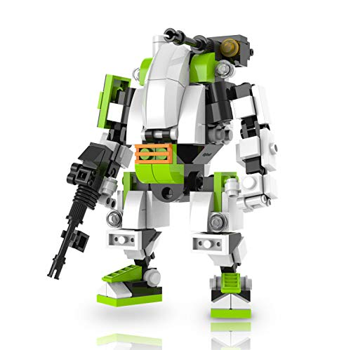 - MyBuild Mecha Frame Puma Team Puma-A3 Building Toy Wonderful Articulation Moving Joints All Bricks Compatible with Other Major Brands (Fire Support Mech 5009)
