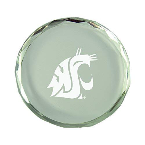 Crystal Paper Weight Washington State University LXG Inc