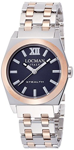 LOCMAN watch stealth Lady Quartz Ladies 0204 02040RGYFNK0BAR Ladies