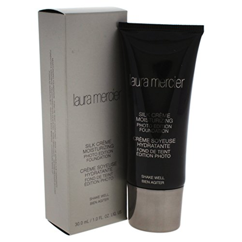 - Laura Mercier Silk Creme Moisturizing Photo Edition Foundation, Cashew Beige, 1 Ounce