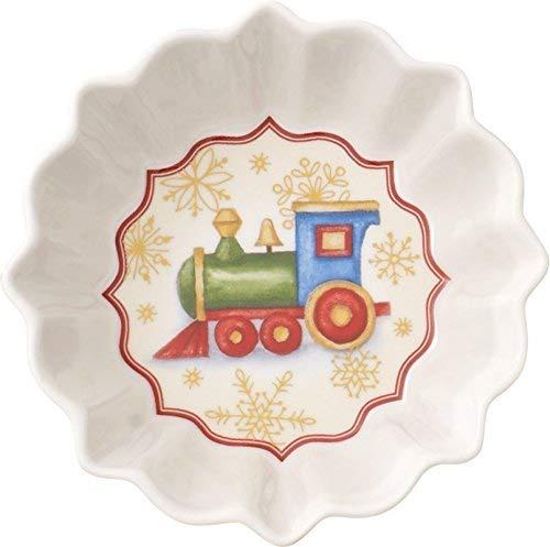 Villeroy & Boch Toys Fantasy Bowl, Porcelain, Green, 23 x 13 x 12 cm
