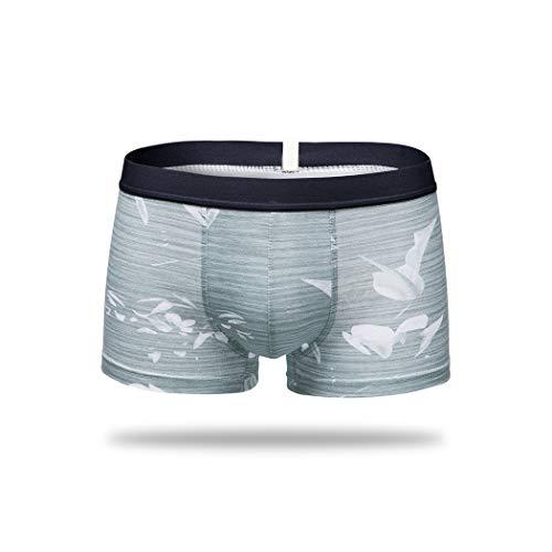 - Alex Kuts Men's Underwear Boxers-1-4 Pcs Striped Cotton Underwear Solid Breathable Shorts,Paint 4,XXL