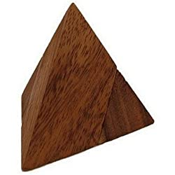 Brain Games Wooden Pyramid Puzzle 2 Pcs