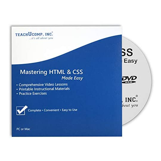 Mastering HTML5 and CSS3 Made Easy- CPE Edition Training Tutorial Course DVD-ROM