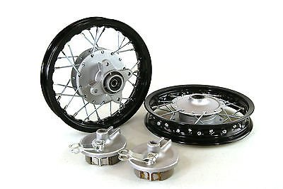 Honda CRF50 Black Front Wheels