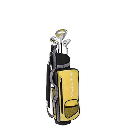 Young Gun ZAAP EAGLE YELLOW Junior golf club Youth Set & bag for kids Ages 3-5