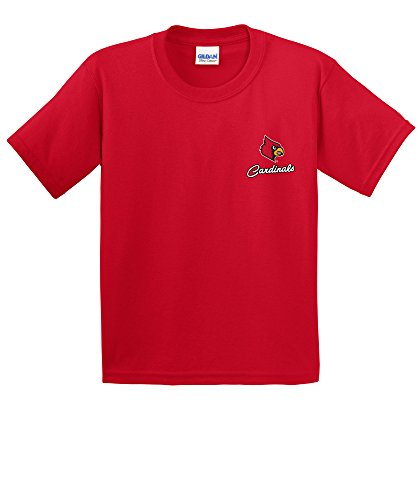 Image One NCAA Cheer Loud Youth Short Sleeve Cotton T-Shirt, Youth ()