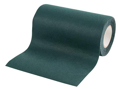 Artificial Grass Tape - Turf Seaming Tape, Lawn Joint Tape, Adhesive Green Seaming Tape, Astro Turf Tape, for Garden, Patio, Lawn, Indoor Outdoor Decoration, 6 Inches x 16.4 Feet