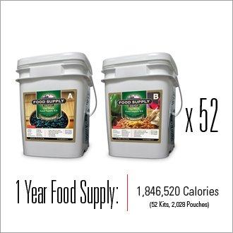 Emergency Food Supply - One YEAR Food Supply Kit  sc 1 st  Amazon.com & Amazon.com : Emergency Food Supply - One YEAR Food Supply Kit ...