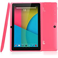 Dragon Touch Y88X, 7' Android Tablet, 8 GB, Pink (Y88X PK)