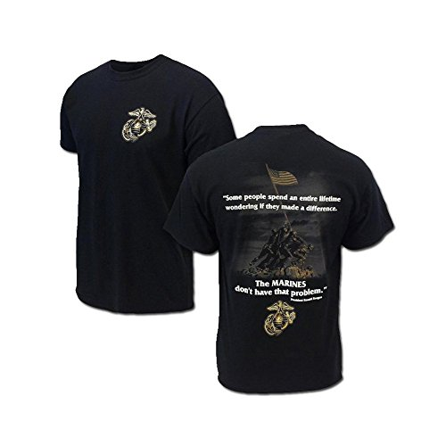 Marines 2 Sided Reagan Quote TEE - XL