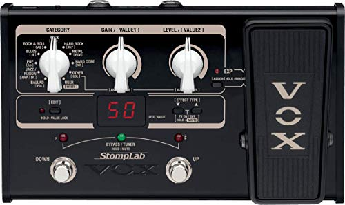 VOX STOMPLAB2G Modeling Guitar Multi-Effects
