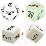 EYLEER 4-Pack Dice Set Game Toy for Adult Couple Men Women Party