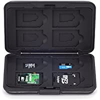 PGYTECH Memory Card Storage Holder Case Box for 8 SD 8 TF Micro SD Card for DJI Mavic/Spark/Phantom/Inspire Accessories