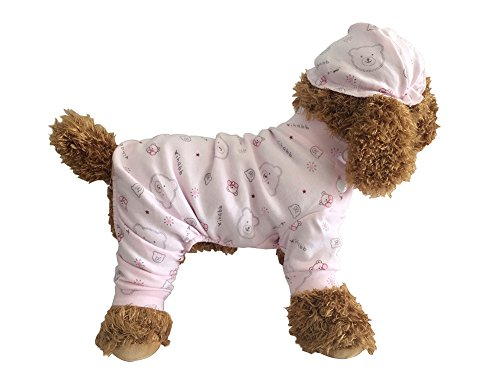 Product image of EastCities Pet Dog Cat Clothes for Small Dogs Puppy Pajamas Outfit,Pink M