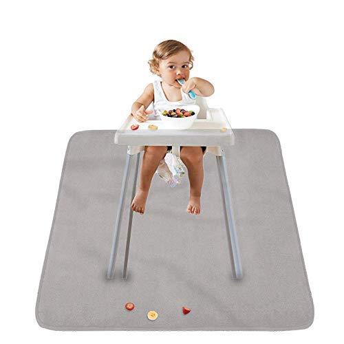Leather Splat Mat Waterproof Baby High Chair Floor Mat