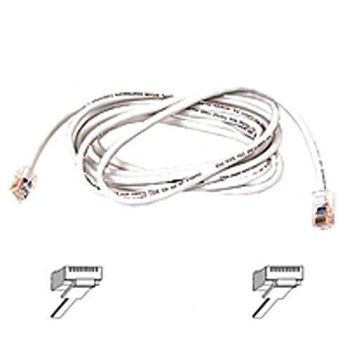(Belkin Cat6 Cable - RJ-45 Male - RJ-45 Male - 5ft - White)