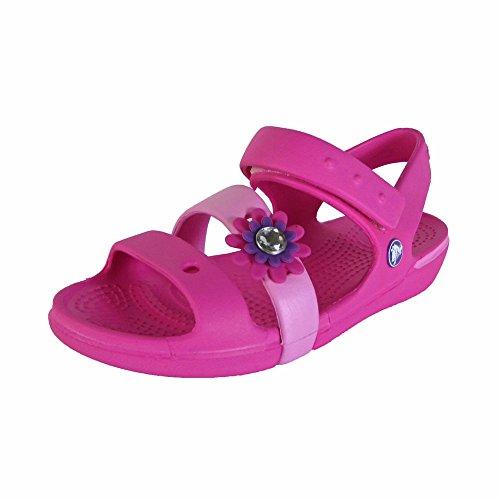 bf3218eb0 Crocs Keeley Petal Charm PS Sandal (Toddler Little Kid)