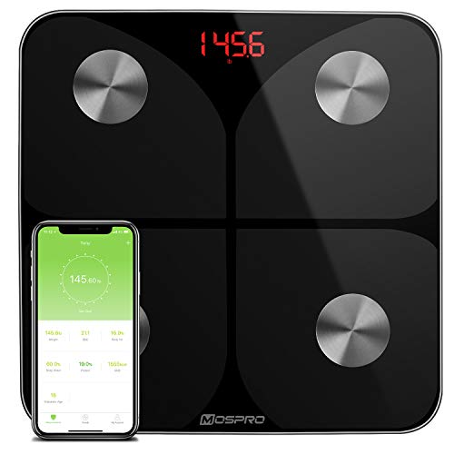 Lowest Prices! Smart Body Fat Weight Scale - Digital Bathroom BMI Scale High Precision Wireless Body...