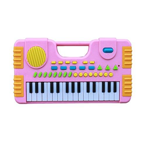 31 touches Jouet de piano pour enfants, Shayson Synthétiseur Multi-fonction Clavier Jouer Piano Électronique électronique Jouet éducatif pour enfants Cadeau (rose)