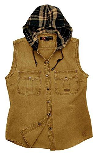 Kakadu Australia - Camisas - para mujer mostaza