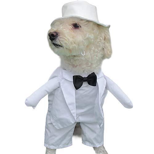 MOCOHANA Dog Tuxedo Wedding Party Suit Pet Costume