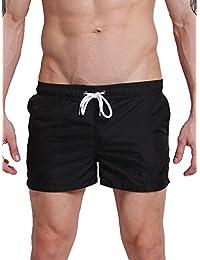 Neleus Men's Dry Fit Beach Swim Shorts