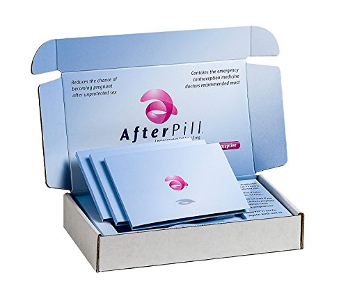 AfterPill Emergency Contraceptive Pill, Exp. 11/2019, 3 Pack by AfterPill