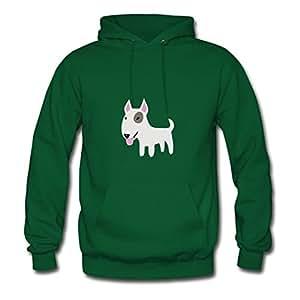 Comfortable Designed Green Women Comic Bully Casual Sweatshirts X-large