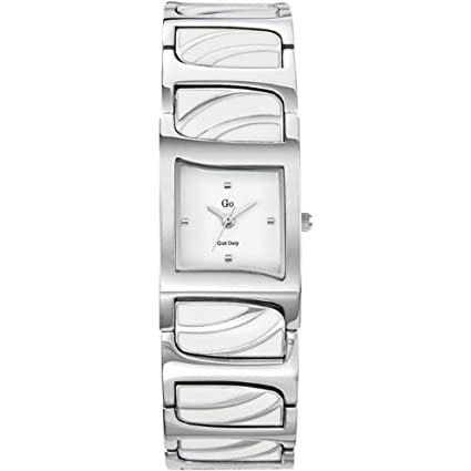 GO, Girl Only Glamour Analogue White Dial Women's Watch - 694160