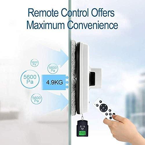 NNFK Nettoyage Smart Glass robotique, Infrarouge Automatique à Distance Robot Aspiration extérieur Haut étage fenêtre 5600pa adsorption Super Fort Ultra-Rapide Nettoyage Rapide