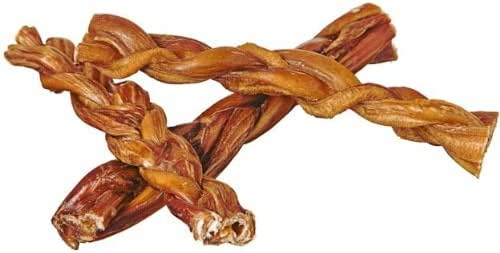 "Dog Treats: Pawstruck 7"" Braided Bully Sticks"