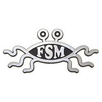 Flying Spaghetti Monster Car Emblem Automotive
