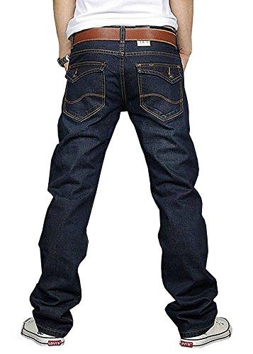 Newfacelook-Mens-Designer-jeans-Casual-Denim-Mens-Pant-Trousers-F09-W32-X-L30