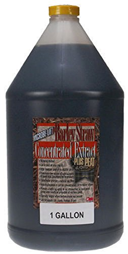 Ecological Labs AEL20287 Microbe Lift Barley Straw Extract Plus Pond Conditioners for Aquarium, (Barley Peat Extract)