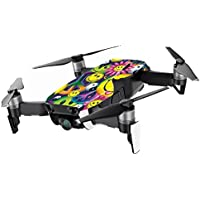 MightySkins Skin for DJI Mavic Air Drone - Peace Smile | Min Coverage Protective, Durable, and Unique Vinyl Decal wrap cover | Easy To Apply, Remove, and Change Styles | Made in the USA
