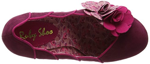 Ruby Shoo April Damen Pumps Purple (Plum)