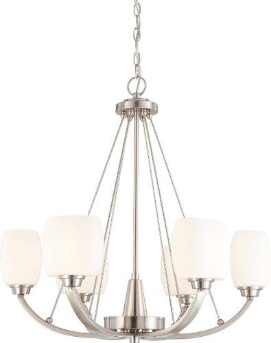 Nuvo Lighting 60/4186 Six Light Chandelier For Sale