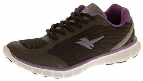 amp  Da black Ginnastica 5 Per Active Taglia Gola Purple Nero Fitness 8  Womens Esercizi ... d08a70f4b25