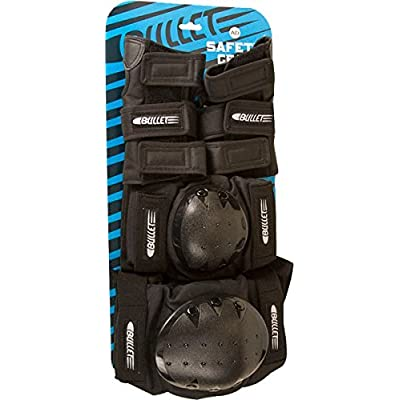 Bullet Elbow/Wrist/Knee Adult Set Black : Skate And Skateboarding Protective Gear : Sports & Outdoors
