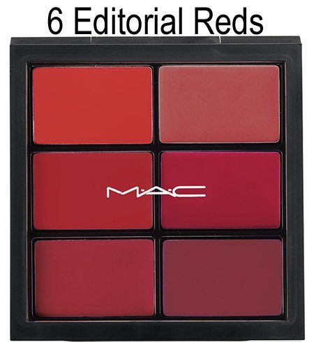 MAC Pro Lip palette ~ 6 EDITORIAL REDS