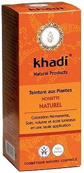 Khadi – Coloración vegetal avellana natural 100 g – Precio por unidad – Envío gratuito en Francia metropolitana en 3 días abiertos