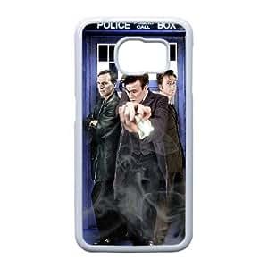 Samsung Galaxy S6 Edge Case , Doctor Who Samsung Galaxy S6 Edge Cell phone case White - HHDD7754460